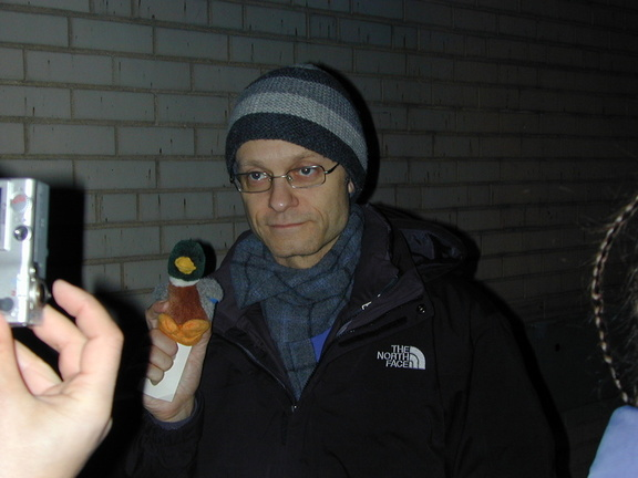 David Hyde Pierce meets NOT Duck