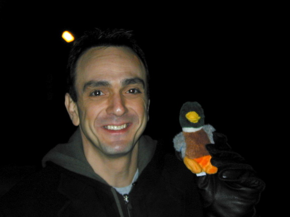 Hank Azaria (a Jumbo) meets NOT Duck