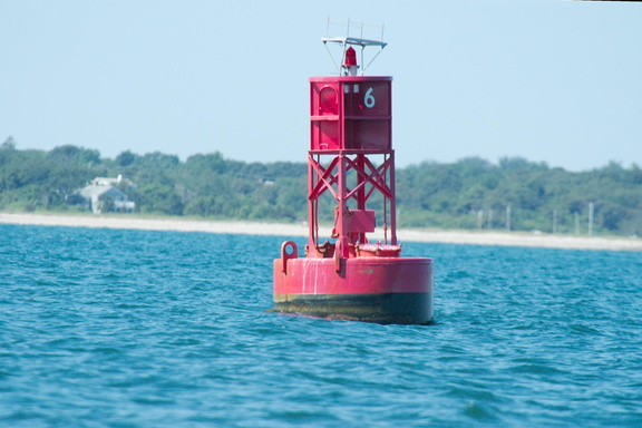 Red right returning, into Edgartown harbor.