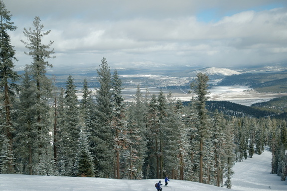 "View from Northstar -- we had maybe 3"" of fresh powder"